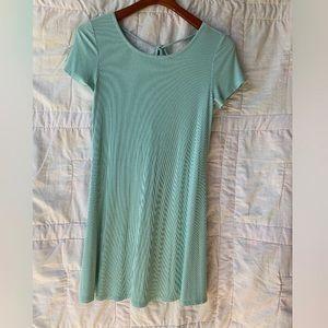 Pastel Teal Dress